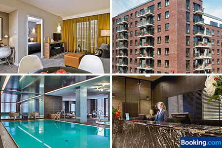 4 tage im adina hamburg deluxe apartment nur 254. Black Bedroom Furniture Sets. Home Design Ideas