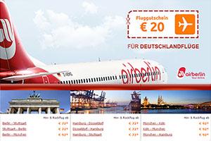 Airberlin Gutschein Spare 20 Mit Dem Fluggutschein Von Opodo