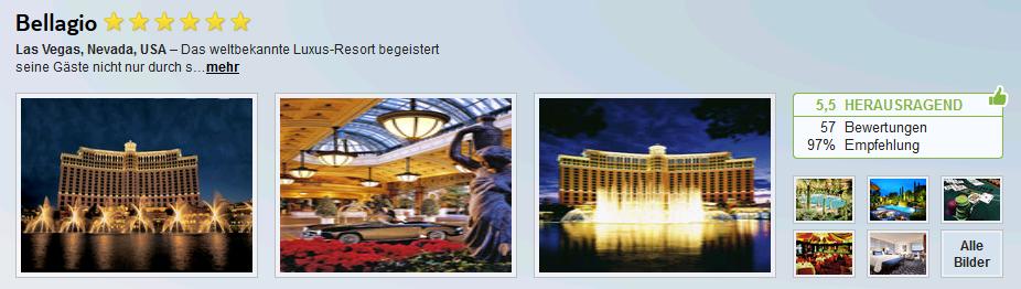 Bellagio Das Legend 228 Re 6 Sterne Hotel In Las Vegas Schon